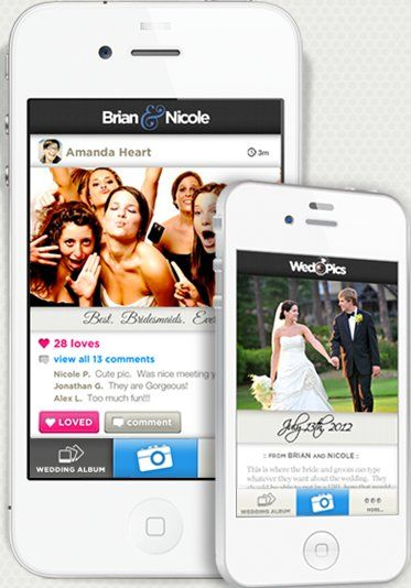 Wedding Photo Apps: 10 Apps That Collect Your Guests' Photos (PHOTOS)