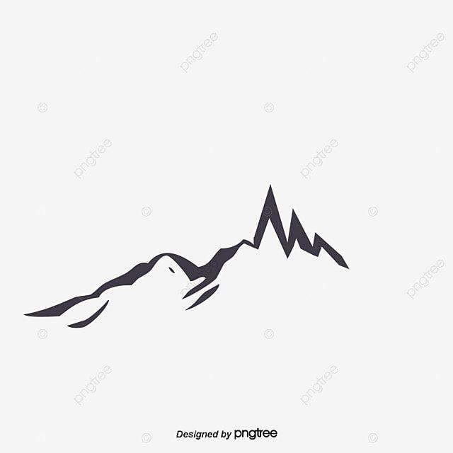 Vetor De Silhueta De Montanhas Clipart De Montanha Cor Profunda Vetor Imagem Png E Psd Para Download Gratuito Di 2021 Siluet Sketsa Ilustrasi