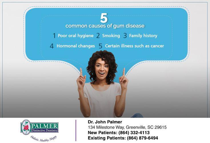 5 common causes of gum disease dentistry gum disease