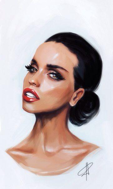#sudzin#art#portrait#girl#fashion#kadur
