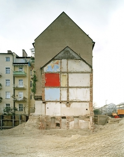 Restarchitektur by Marcus Buck  It's an ongoing project of architecture remains.
