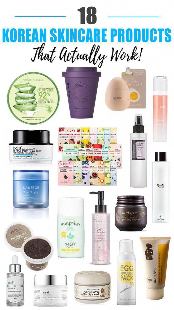 18 Korean Skincare Products That Actually Work The Best Korean Skincare Products You Can Buy On Amazon Korean Skincare Skin Care Beauty Advice