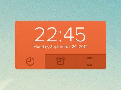 Clock wdgt