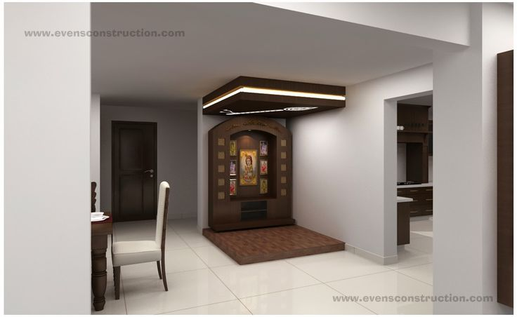 Evens Construction Pvt Ltd: Puja Room and Vasthu