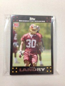 2007 Topps FB Washington Redskins Team Set w RC by Topps. $3.75. NEAR TO CONDITION cards from a broken up factory set. You get every card of the listed team in title from the entire 440 card set. That means you get the following cards (this is a full and complete list):45 JASON CAMPBELL47 MARK BRUNELL109 LADELL BETTS110 CLINTON PORTIS191 ANTWAAN RANDLE EL192 SANTANA MOSS219 CHRIS COOLEY224 SEAN TAYLOR269 LONDON FLETCHER 293 JORDAN PALMER RC385 LARON LANDRY RC S...