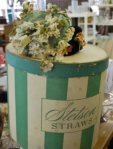 Vintage hats & box by everything vintage, via Flickr