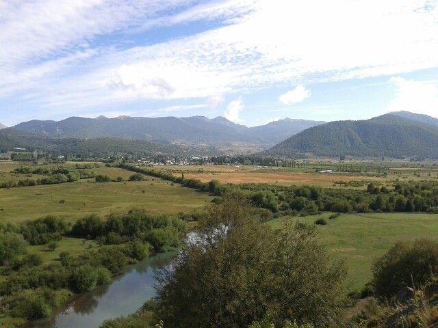 Valle en Lonquimay  Chile