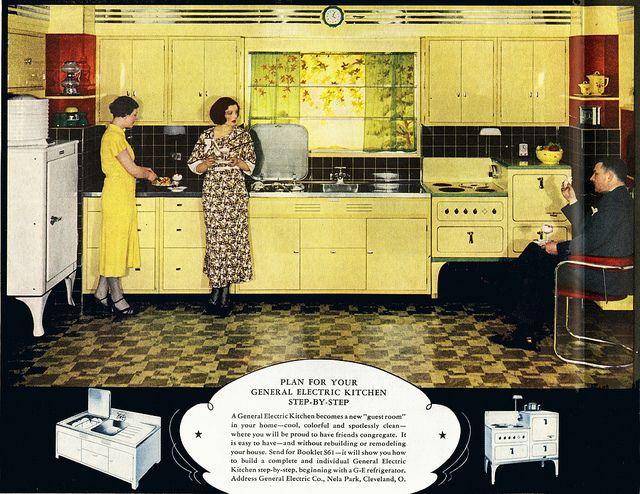G.E. Electric Kitchen 1932