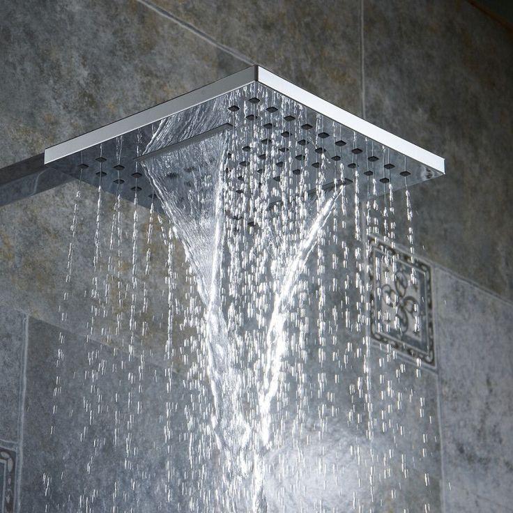 Bathroom shower Nozzle Rain type Pressure shower head Waterfall type shower head