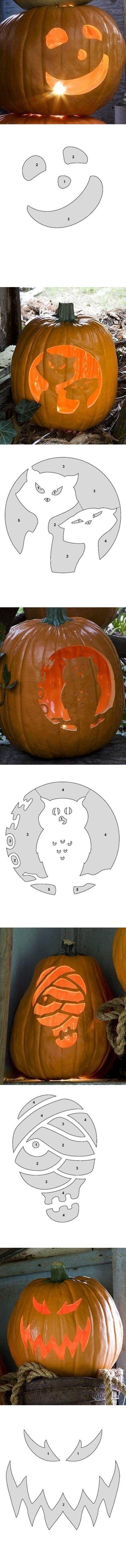 213 besten Voor pompoenen Bilder auf Pinterest | Halloween ideen ...