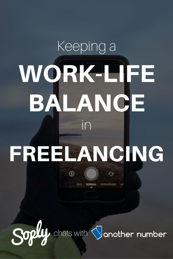 We spoke with Another Number about the freelance industry and keeping a work-life balance. Click the link to see how sites such as ours can help you keep that perfect work- life balance!