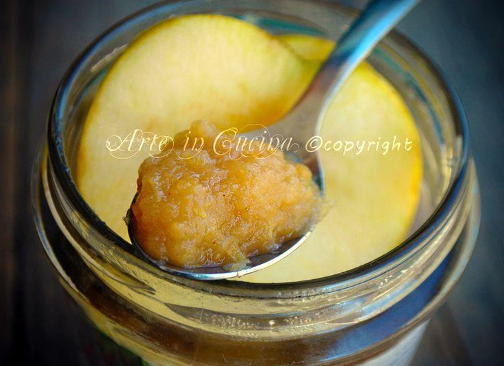 Marmellata di mele e cannella, ricetta confettura di mele, facile, senza pectina, ottima come un frulato di frutta, ideale per farcire torte, senza glutine