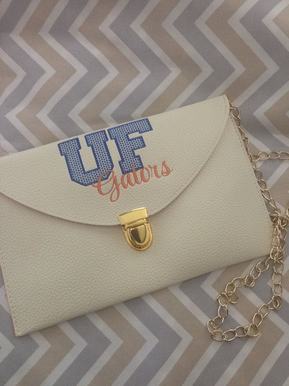 University of Florida - UF Gators - College Game Day Clutch - Monogrammed - Football