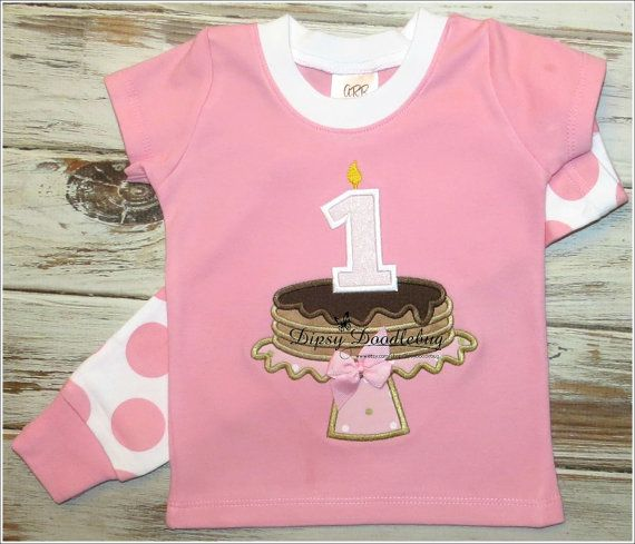 Pancakes and Pajamas Birthday Party Pajamas for by DipsyDoodlebug