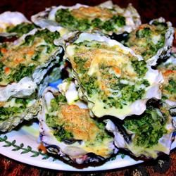 """Rockin' Oysters Rockefeller   """"Now I know why this recipe is called, Rockin' Oysters Rockefeller! This recipe rocks!!!! It's the best Oysters Rockefeller I've ever had. Delicious and out of this world!"""" http://allrecipes.com/recipe/rockin-oysters-rockefeller/Detail.aspx"""