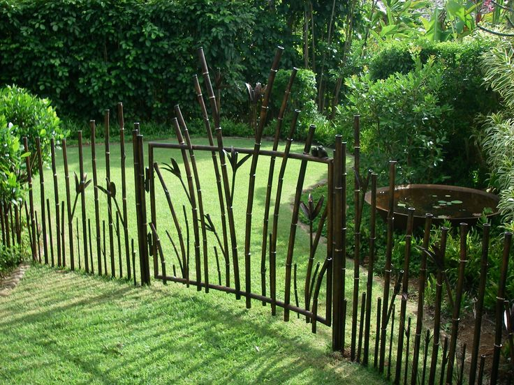Nice Iron Fence And Gate.