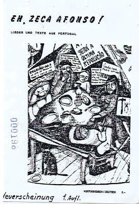 Cartazes de concertos de José Afonso em Freiburg, 1980 | AJA