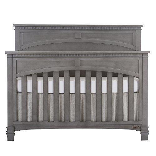 Evolur Santa Fe 5 In 1 Convertible Crib Storm Grey