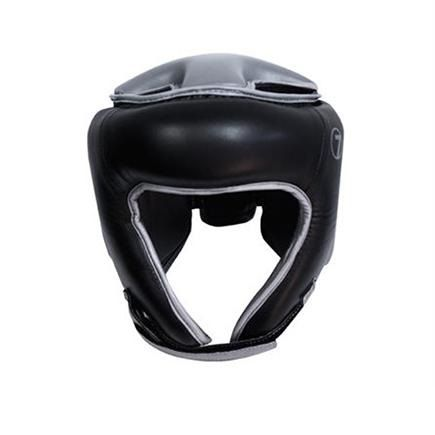 Black Boxing Headgear by Seven - https://www.martialartsupply.com/product/black-boxing-headgear-seven/