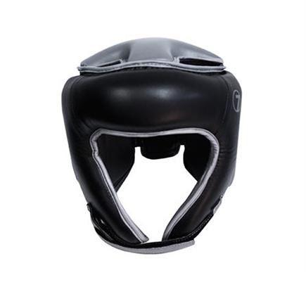 Black Boxing Headgear by Seven - https://www.martialartsupply.com/product/black-boxing-headgear-seven/