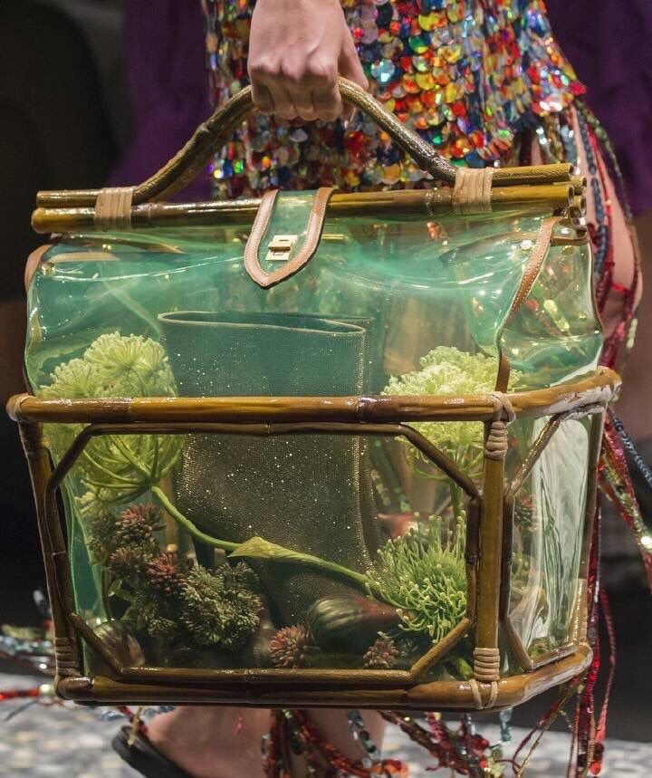 Aquarium Bags At Marco De Vincenzo Ss19