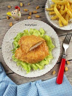 Mogyorós tojáskrémben sült csirke