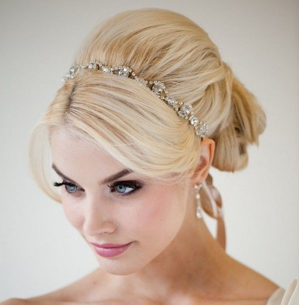 Messy Bun Hairstyles With Headband & Long Bun Hairstyles