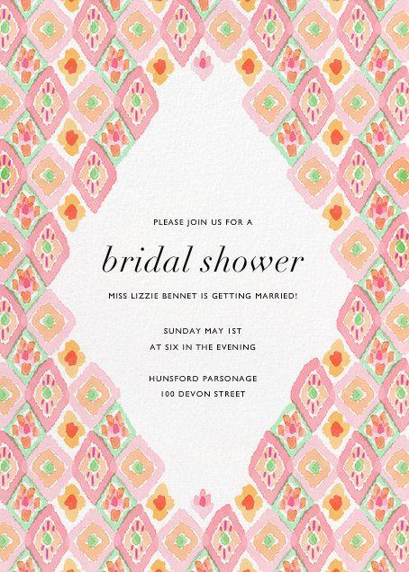 221 best Bridal Shower Invitations images on Pinterest