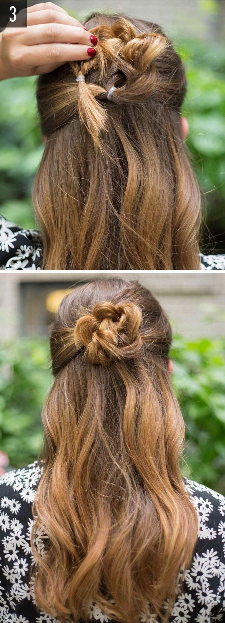 Several Tutorials and Models of Sublime Braid Hairstyle