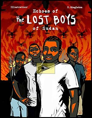 Echoes of the Lost Boys of Sudan Graphic Novel