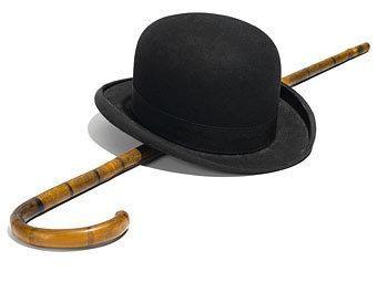 Котелок шляпа купить и трость