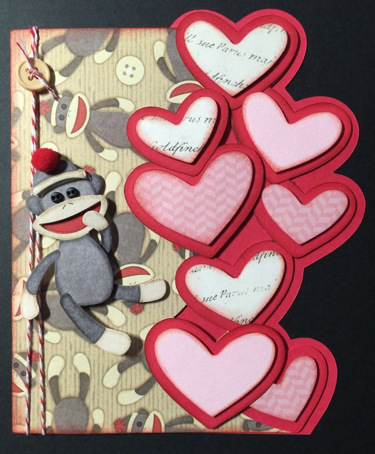 1209 best images about valentine cards – Monkey Valentine Cards