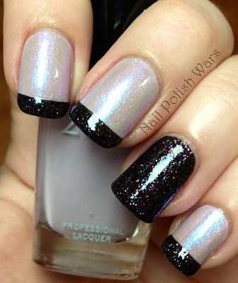 Colors: Zoya Marley, Nicole by OPI Count on Me, Butter London The Black Knight
