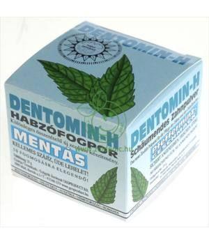 DentominH habzó fogpor (mentás)