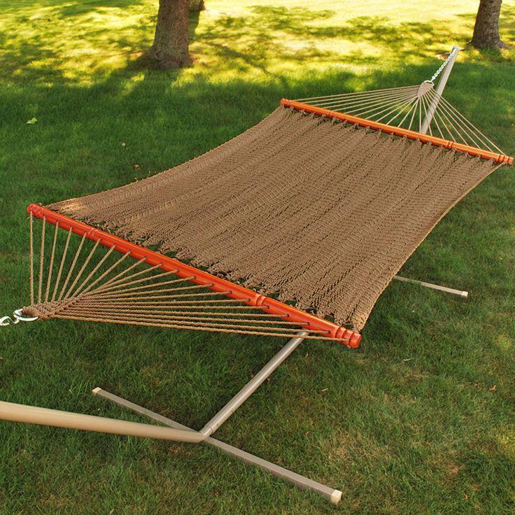 algoma tight weave soft polyester rope hammock   wayfair 33 best let u0027s hang out  hammocks images on pinterest   outdoor      rh   pinterest