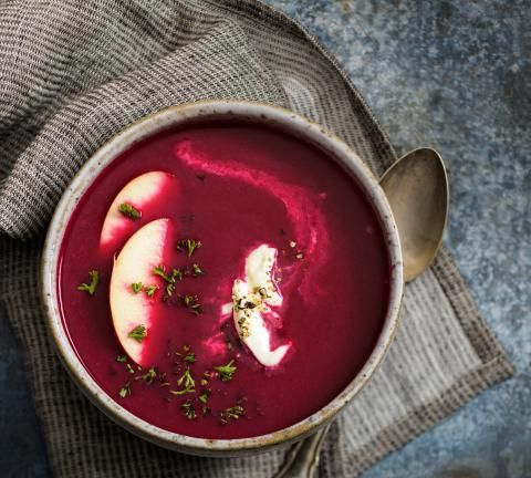Randen-Apfel-Suppe