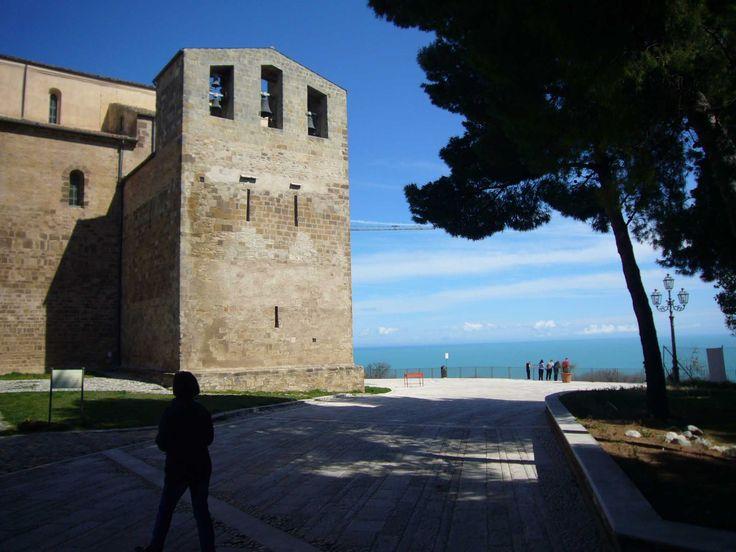 San Giovanni in Venere abbey nearby