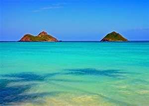 Mokulua Islands, Kailua Beach, Oahu ~ Hawaii
