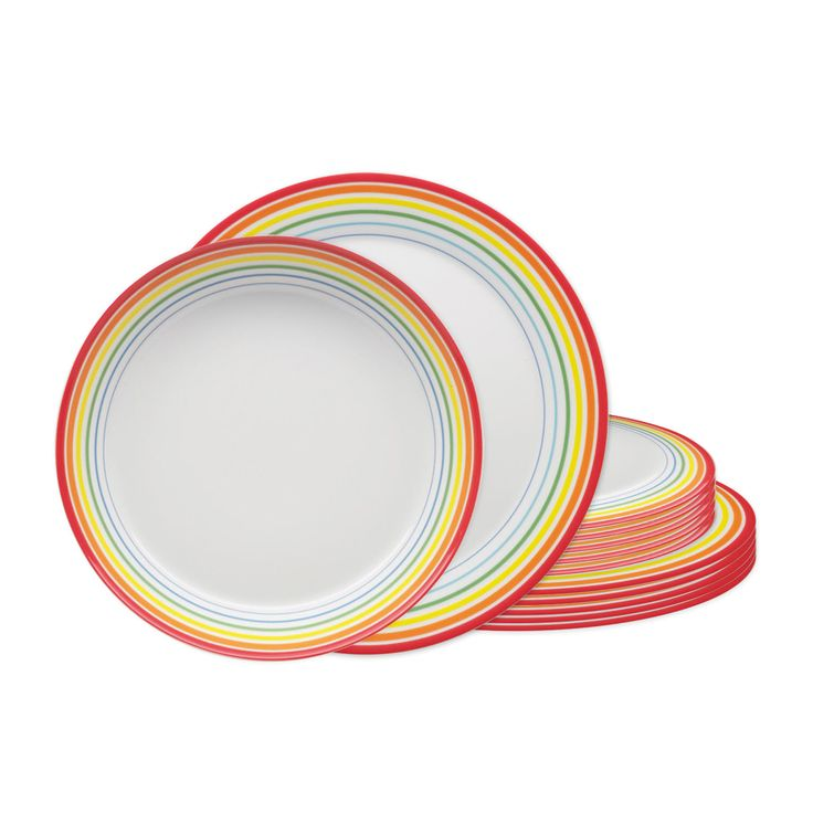 Tafelservice 12tlg. aus der Geschirrserie Arzberg Tric Colours
