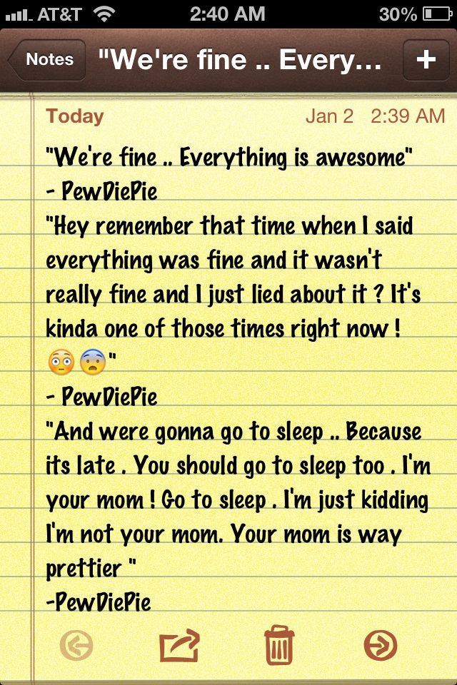 Here are some of Pewdiepie's quotes that made me laugh XD