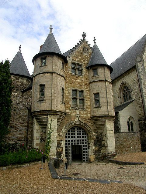 Angers   France - I lived down the street from this castle :)