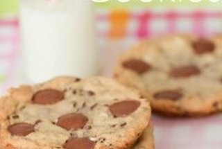 Giant Peanut Butter Cup Marshmallow Cookies | If only calories weren't ...
