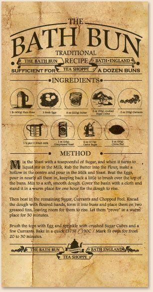 Traditional Bath Bun recipe. I should veganize it