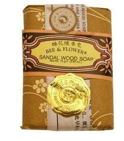 Bee & Flower - Chinese Sandalwood Soap 2.65oz - 12/case by Bee & Flower. $12.45. Bee & Flower Sandalwood Soap gently and luxuriously cleanses the skin and has a pleasing sandalwood scent.. B000K74USQ