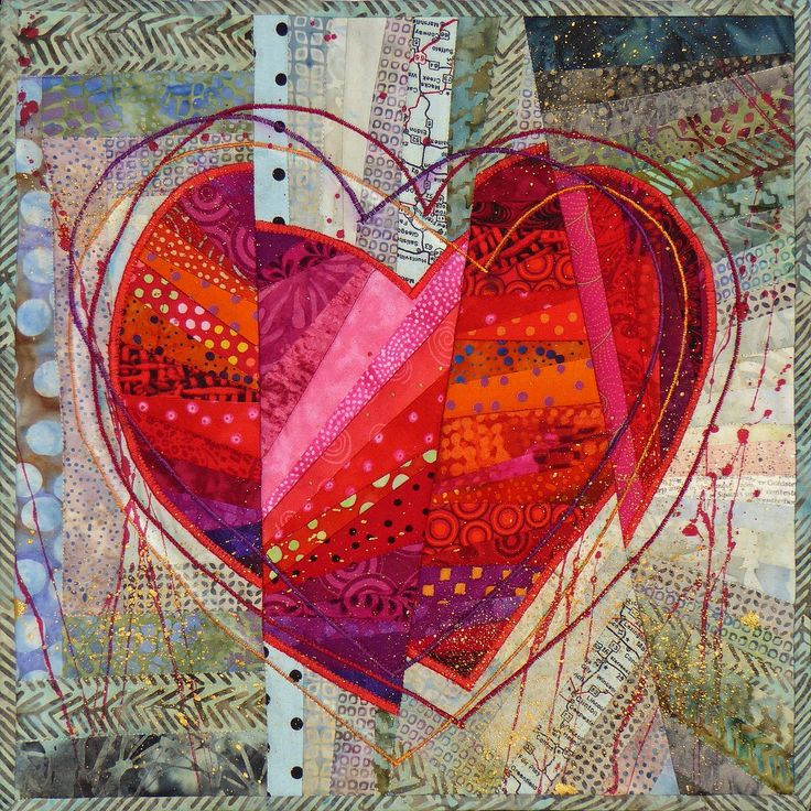 And The Beat Goes On by Nancy Messier. Heart.