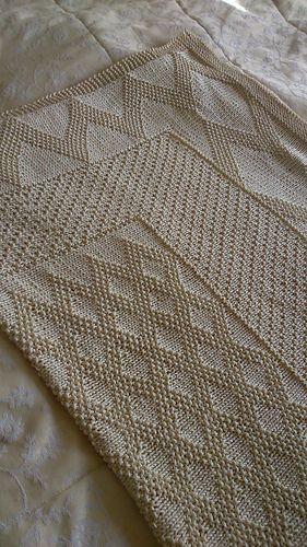 Eric's Blanket Knitting Pattern