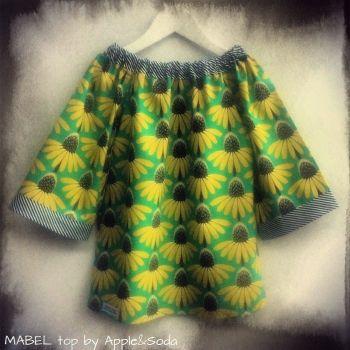 Apple&Soda   Children   Clothing   Stunning 'MABEL' top - Handmade Emporium