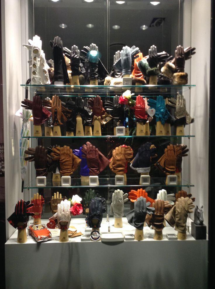 A gloves shop in Paris