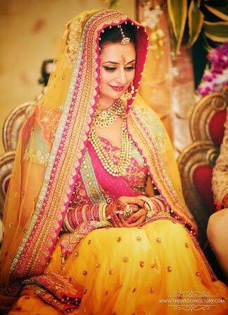 Divyanka's wedding attire!