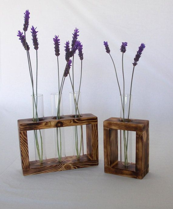 Flower Glass tube Holder / Test tubes